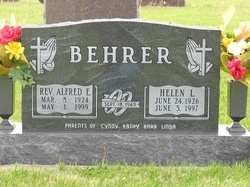 Rev Alfred E. Behrer