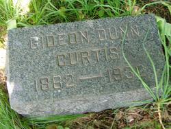 Gideon Dunn Curtis
