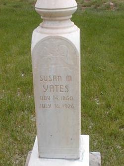Susan Isadore <I>Mc Arthur</I> Yates