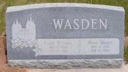 Flossie <I>Reynolds</I> Wasden