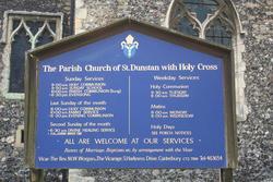 St Dunstan Churchyard