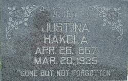 Justinna Knookala Hakola