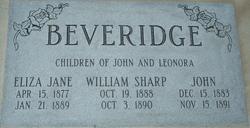 William Sharp Beveridge