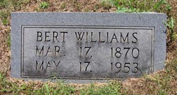 "Liberty M. ""Bert"" Williams"