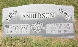 Eva Nell <I>Cox</I> Anderson