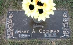 Mary Ann <I>Legozzie</I> Cochran