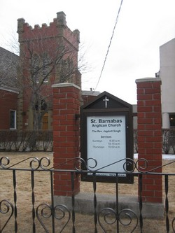 Saint Barnabas Anglican Church Cemetery
