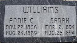 Annie C Williams