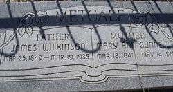Mary Ann <I>Gunnell</I> Metcalf