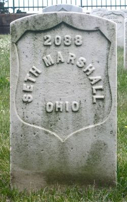 Pvt Seth Marshall