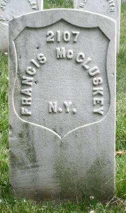 Pvt Francis McCluskey