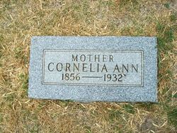 Cornelia Ann <I>Ray</I> Barger