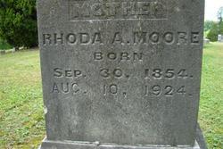 Rhoda A. <I>Stanfill</I> Moore