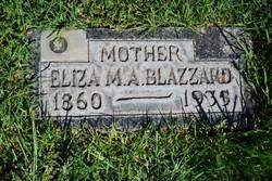"""Eliza Melzina """"Dean"""" <I>Averett</I> Blazzard"""