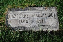 Hazel Amelia Blazzard