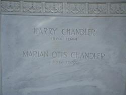 Emma Marian <I>Otis</I> Chandler