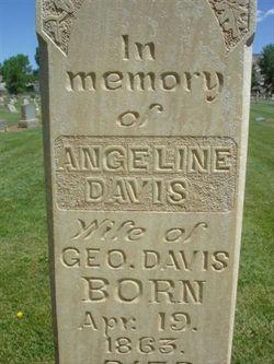 Angeline Melissa <I>McInelly</I> Davis