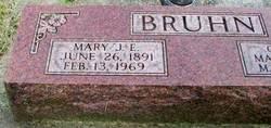 Mary Jane Elizabeth Mae <I>Pinson</I> Bruhn