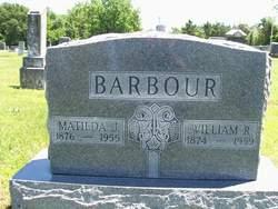 Matilda Josephine <I>Sipe</I> Barbour