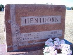 Ruth Evelin <I>Carlson</I> Henthorn