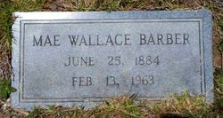 Mae <I>Wallace</I> Barber