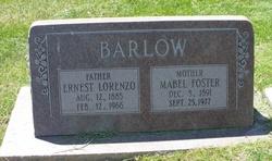 Mabel F <I>Foster</I> Barlow