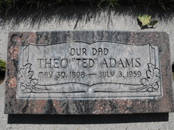 """Theo """"Ted"""" Adams"""