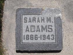 "Sarah Melvina ""Mina"" <I>Murdock</I> Adams"