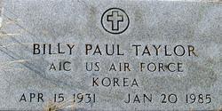 Billy Paul Taylor