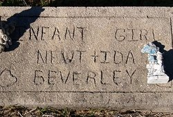 Infant Daughter Beverley