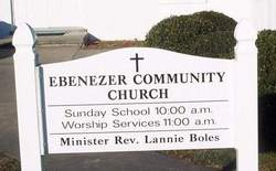 Ebenezer Community Church Cemetery