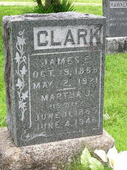 Martha Jane <I>Hawken</I> Clark