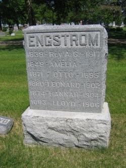 Amelia <I>Holmes</I> Engstrom