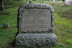 Maria F <I>Osgood</I> Brown