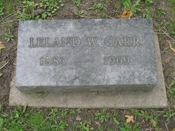 Leland Walker Carr Sr.