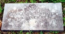 Eunice Evelyn <I>Vinsonhaler</I> Winch