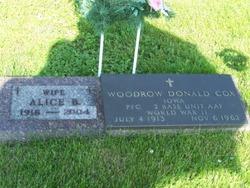 Woodrow Donald Cox