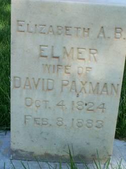 Elizabeth Ann <I>Blunden</I> Paxman