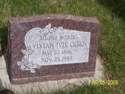 Vivian <I>Ivie</I> Olsen