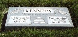 Gene <I>Harris</I> Kennedy