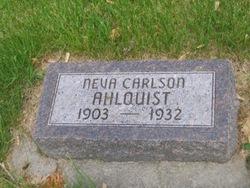 Neva E. <I>Carlson</I> Ahlquist