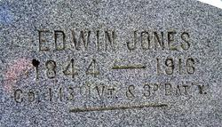 Pvt Edwin Jones