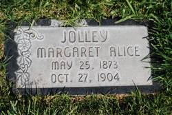Margaret Alice <I>Jackson</I> Jolley