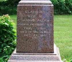 Clarissa <I>Andrews</I> Allen