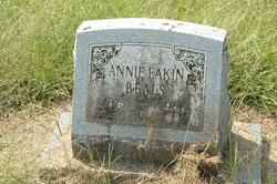 Annie <I>Eakin</I> Beals