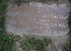 PFC Randall John Gustafson