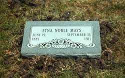 Etna <I>Noble</I> Mays