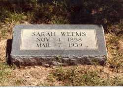 Sarah Ann <I>McCormack</I> Weems