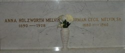 Anna <I>Holzworth</I> Melvin