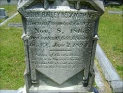 Dr John Bailey Beckwith